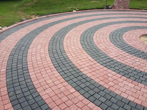 motif pemasangan paving block