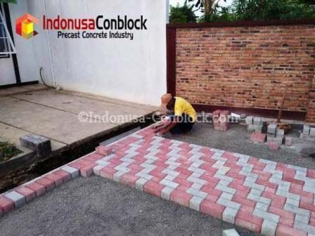 jasa pemasangan paving block conblock
