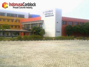 paving block sekolahan