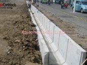 Cara Pemasangan Saluran U-Ditch Beton Dengan Benar