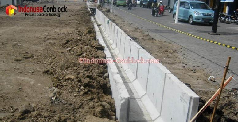 cara pemasangan saluran u-ditch beton