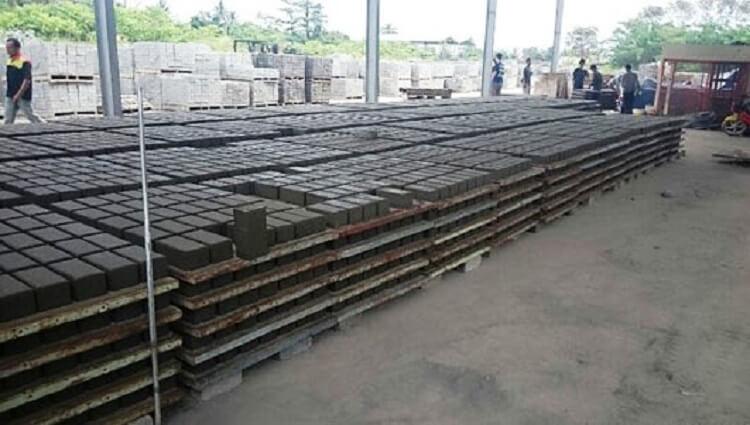 pabrik paving block