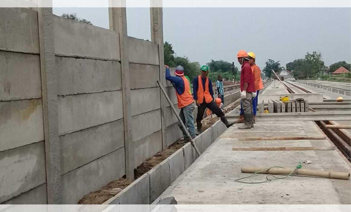 pasang pagar panel beton