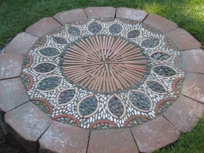 Pola Pemasangan Paving Block Mosaik